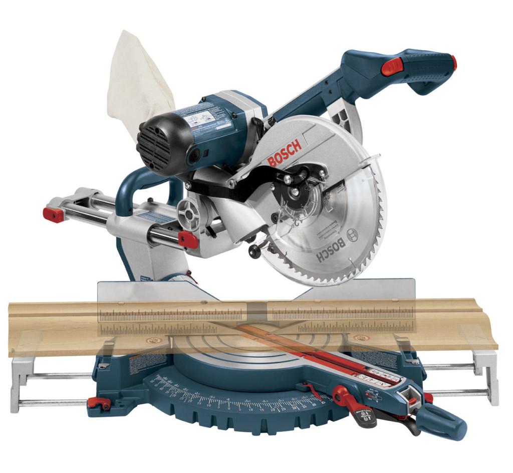 Bosch 4310 10-Inch Dual Bevel Slide Miter Saw