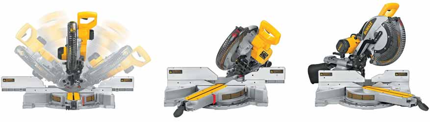 DEWALT DW718 12-Inch Double-Bevel Slide Compound Miter Saw