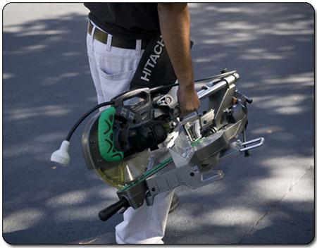 Hitachi C8FSHE Sliding Compound Miter Saw