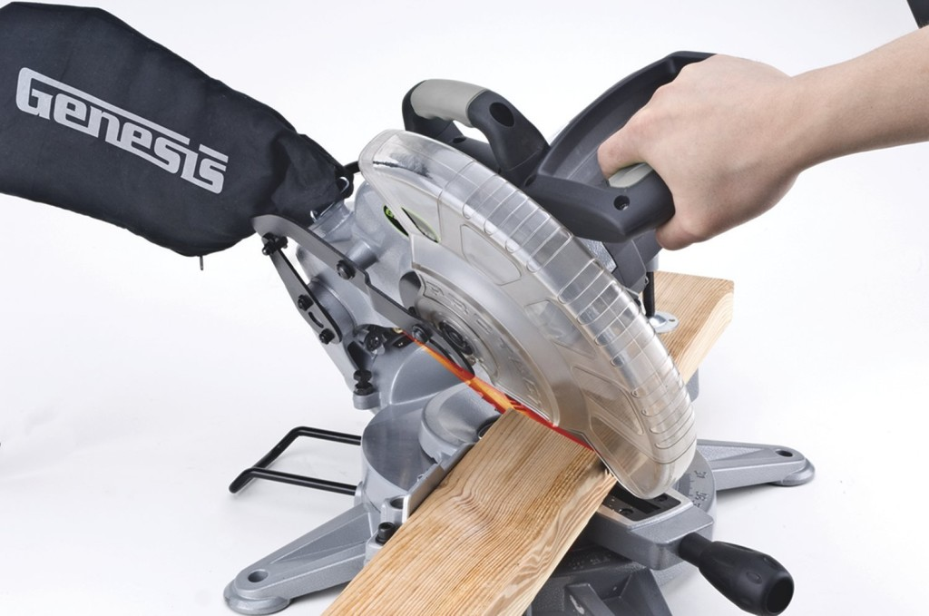 Genesis GMS15LB 10-Inch 15-Amp Compound Miter Saw