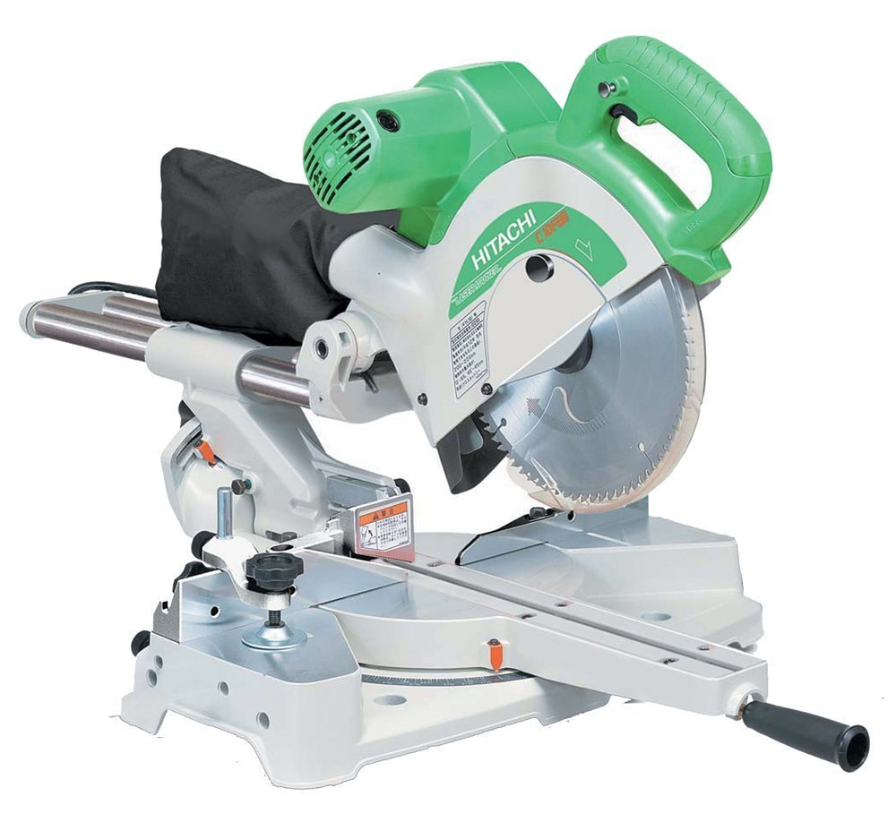 hitachi 10 inch miter saw. hitachi c10fsb 10-inch compound miter saw review 10 inch t