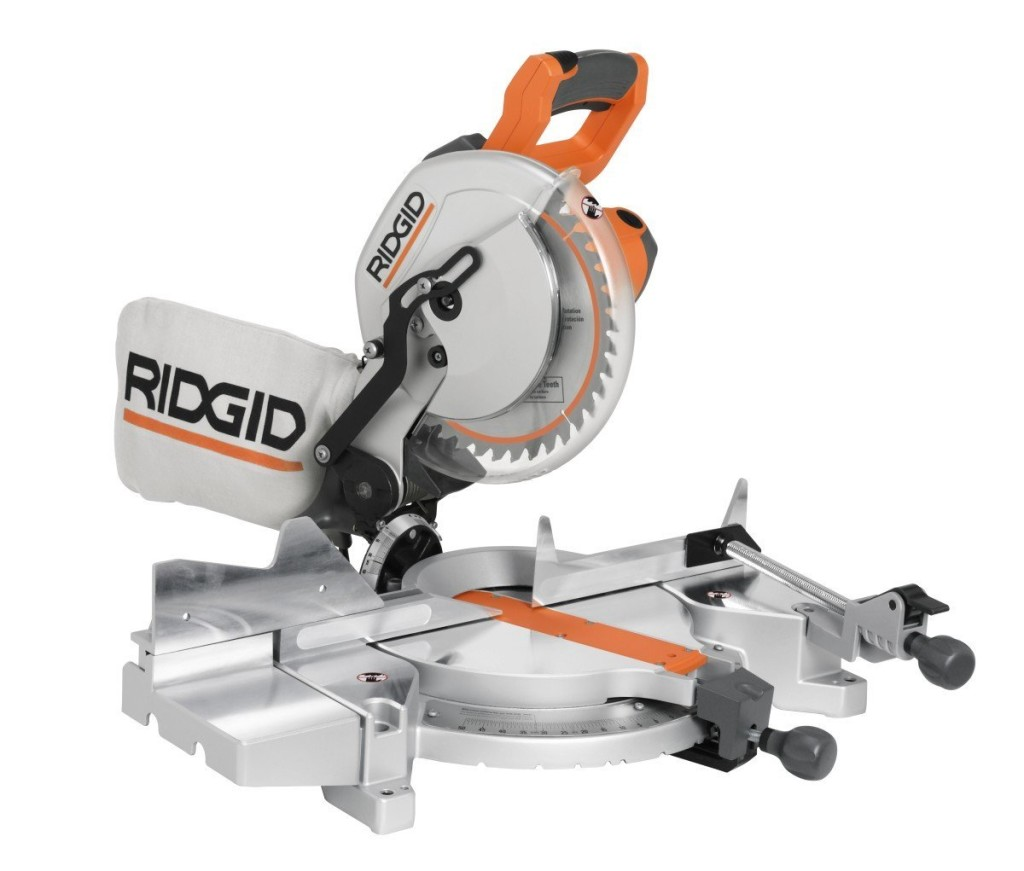 Ridgid MS1065LZA Saw 10-Inch Compound Miter
