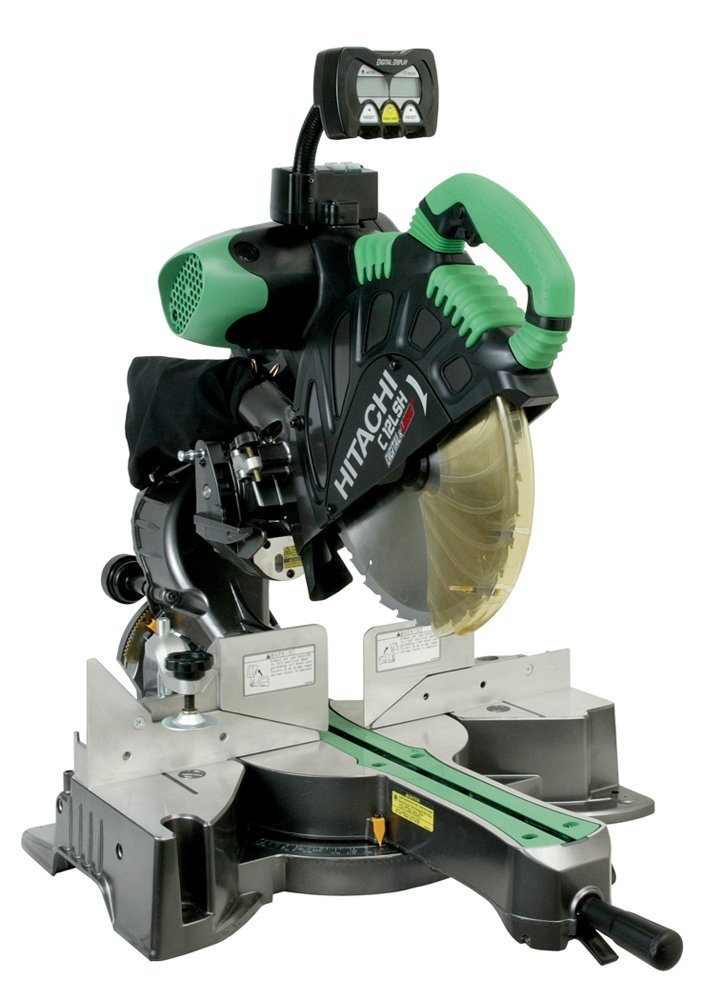Hitachi C12LSH 12-Inch Dual Bevel Sliding Compound Miter saw