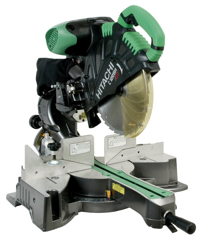 Hitachi C12RSH 15 Amp 12-Inch Sliding Compound Miter Saw