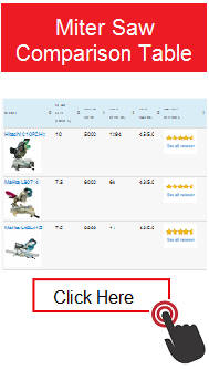 Miter Saw Comparison Table